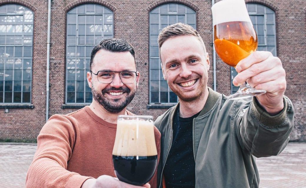 Team Biercheque met speciaalbieren imperial stout en herfstbok als biercadeau